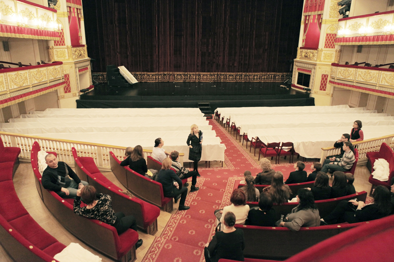 The splendid Alexandrinsky Theatre