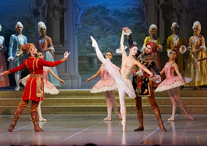 SLEEPING BEAUTY (The performance of the Ballet Theater. L. Jacobson)